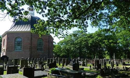 bijzondere begraafplaats